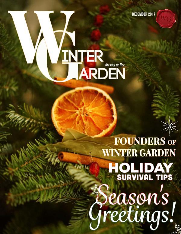 Winter Garden Magazine December 2017