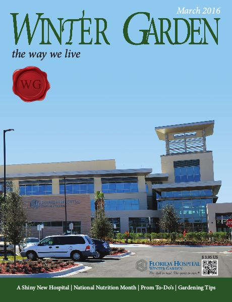 Winter Garden Magazine March 2016
