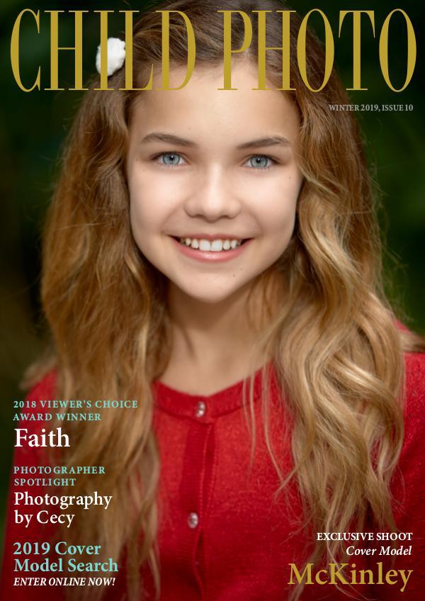 Child Photo Magazine Issue 10, Winter 2019