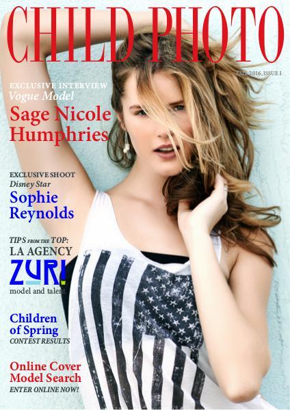 Child Photo Magazine Issue 01, Fall 2016