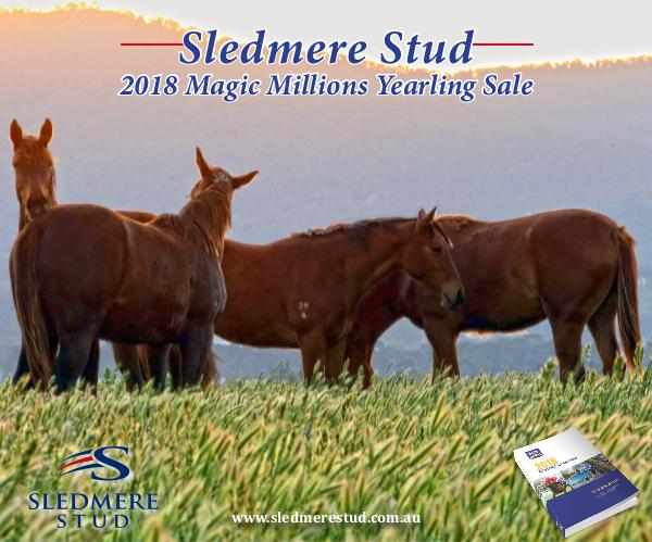 Sledmere Stud - 2018 Magic Millions Yearling Sale Preview 2018 Sledmere Stud Magic Millions Booklet