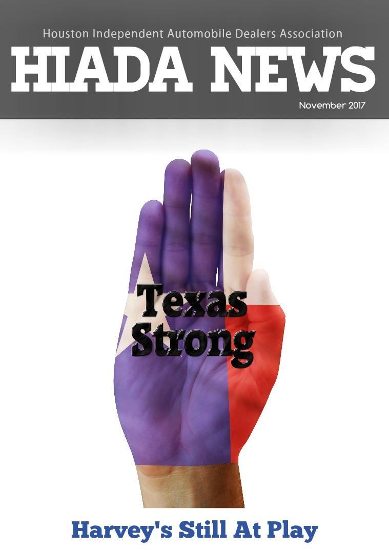 November Issue: Harvey's Still at Play