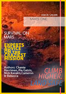 MARS ONE ASSIGNMENT