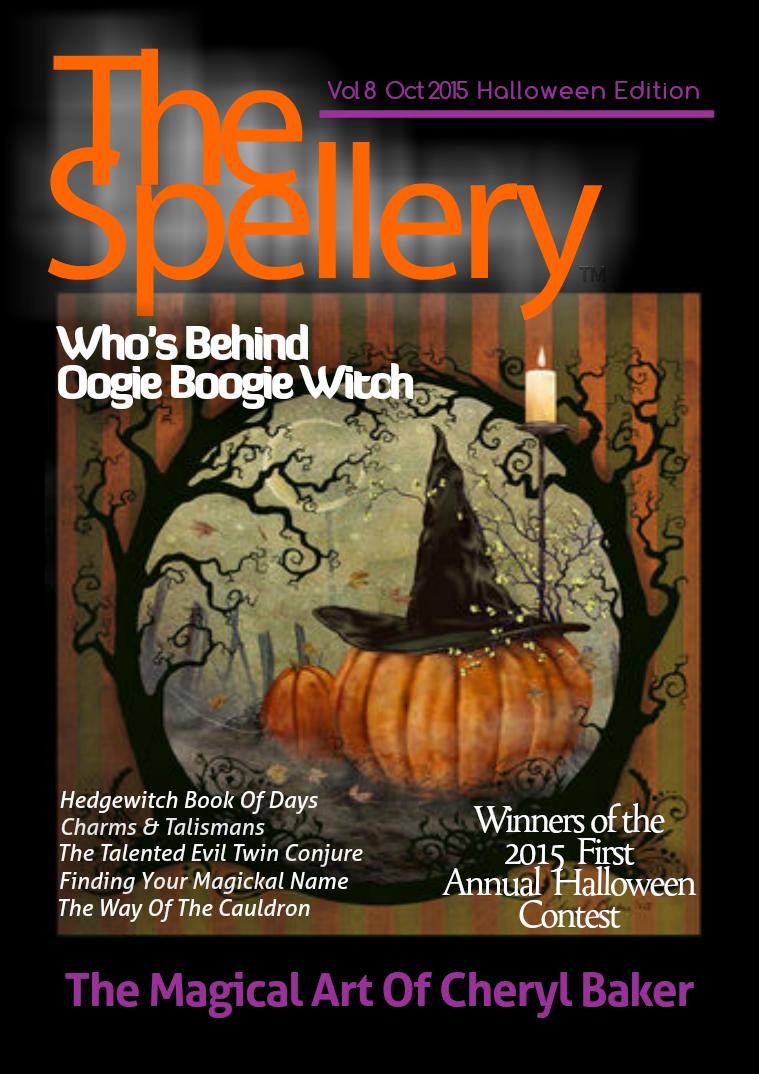 The Spellery Vol.8  Oct. 2015