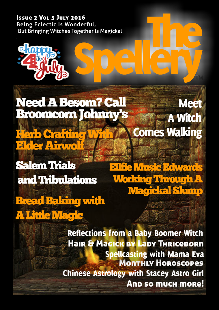 The Spellery Issue 2 Vol 5 July 2016