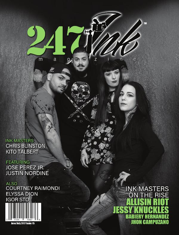 247 Ink Magazine (June/July) 2017 Issue#15