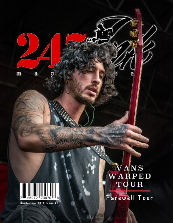 247 Ink Magazine Special Edition Issue #1 Final Vans Warped Tour 2018