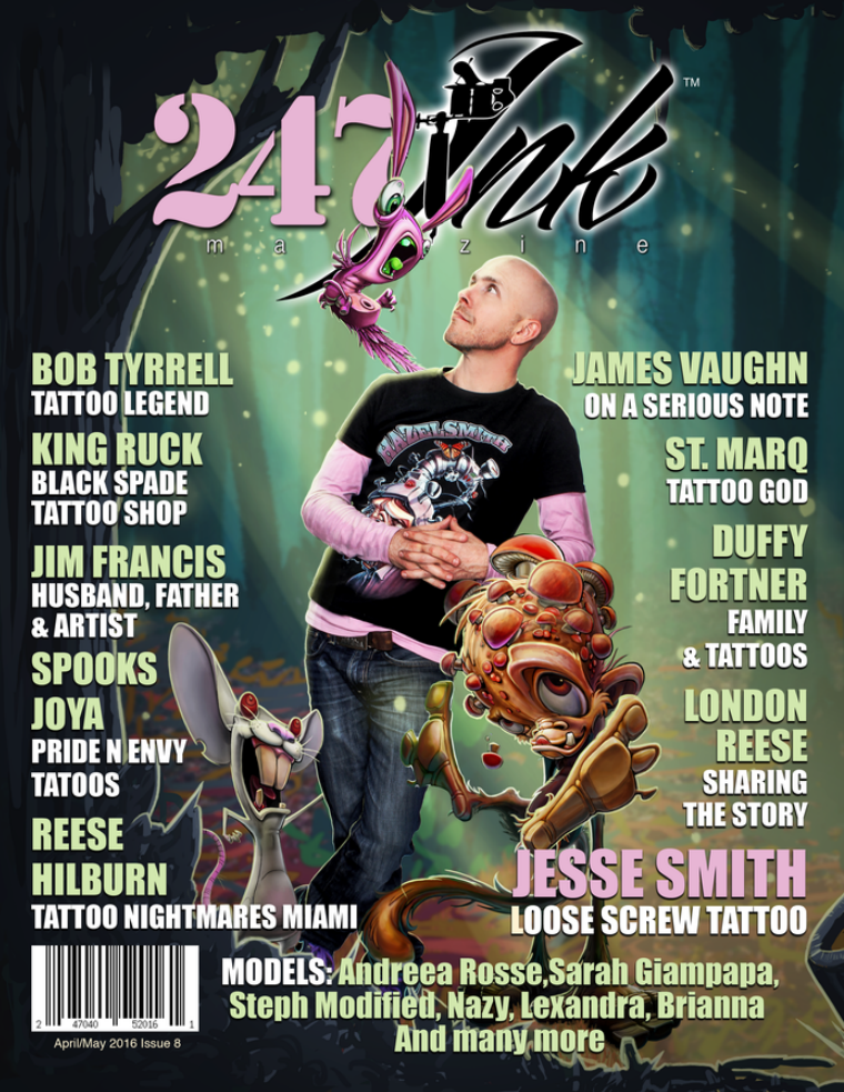 247 Ink Magazine (April/May) 2016 Issue #8