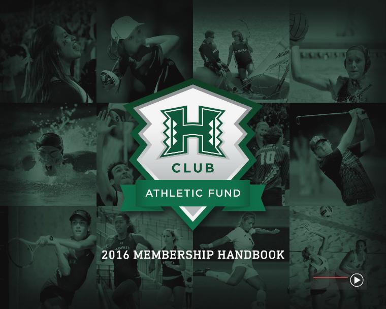 2016 H-Club Athletic Fund Membership Guide 2016