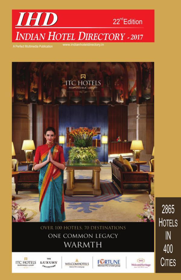 IHD-Indian Hotel Directory 2017 IHD-Indian Hotel Directory 2017