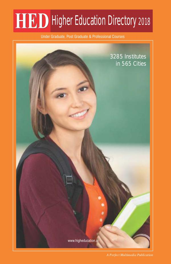 HED-Higher Education Directory 2018 HED-Higher Education Directory 2018