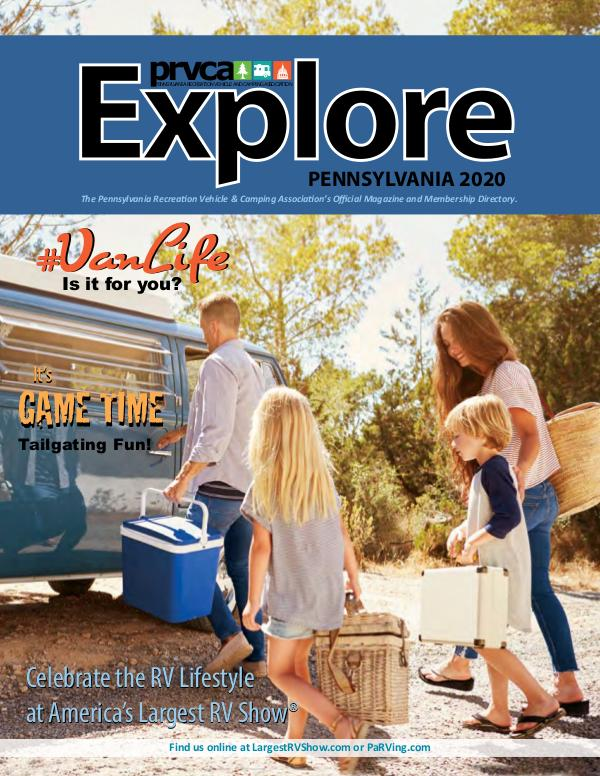 PRVCA Explore Magazine PRVCA Explore PA 2020