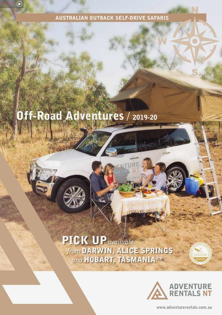 Adventure Rental: Product Brochure 2019-20 AdventureRentals_Brochure_V3_2019