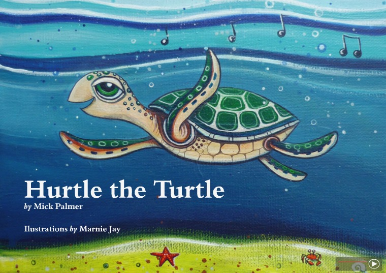 Hurtle the Turtle HurtleTurtle_WEB