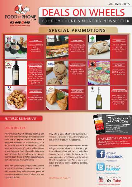 Food By Phone Deals On Wheels Joomag Newsstand