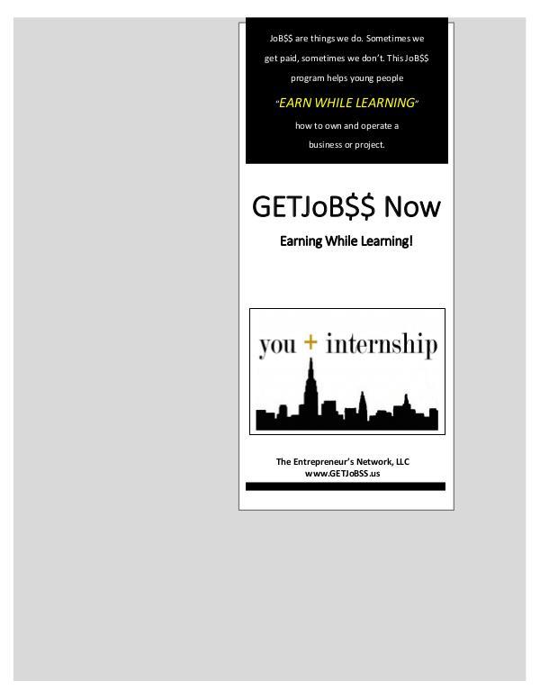 www.GETJoB$$.us TEN Steps to Success - Business Internship