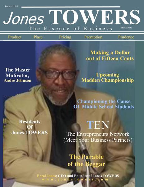 Jones Towers Business Magazine Summer 2015