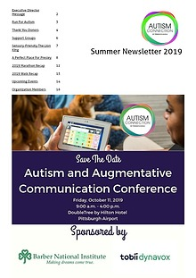 Autism Connection of PA Spring Newsletter