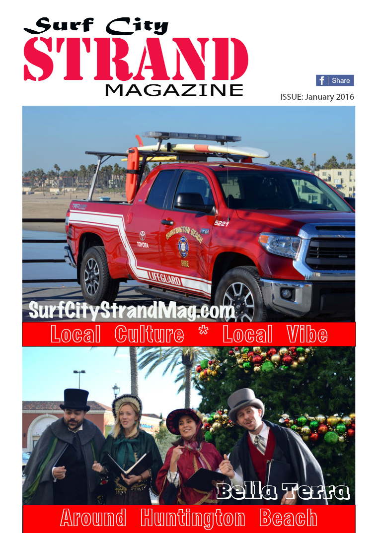 Thirdcloud Publications Surf City Strand Mag January 2016