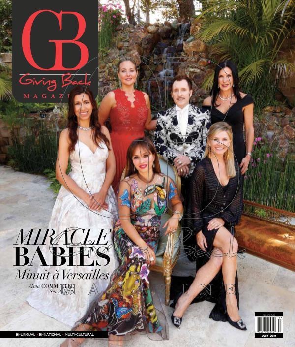 Giving Back Magazine July 2018