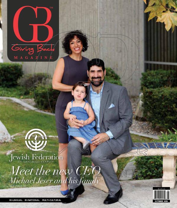 Giving Back Magazine October 2018