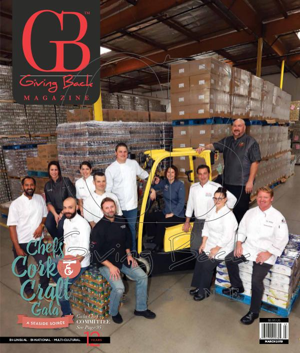 Giving Back Magazine March 2019