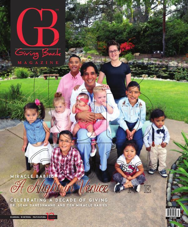 Giving Back Magazine July 2019