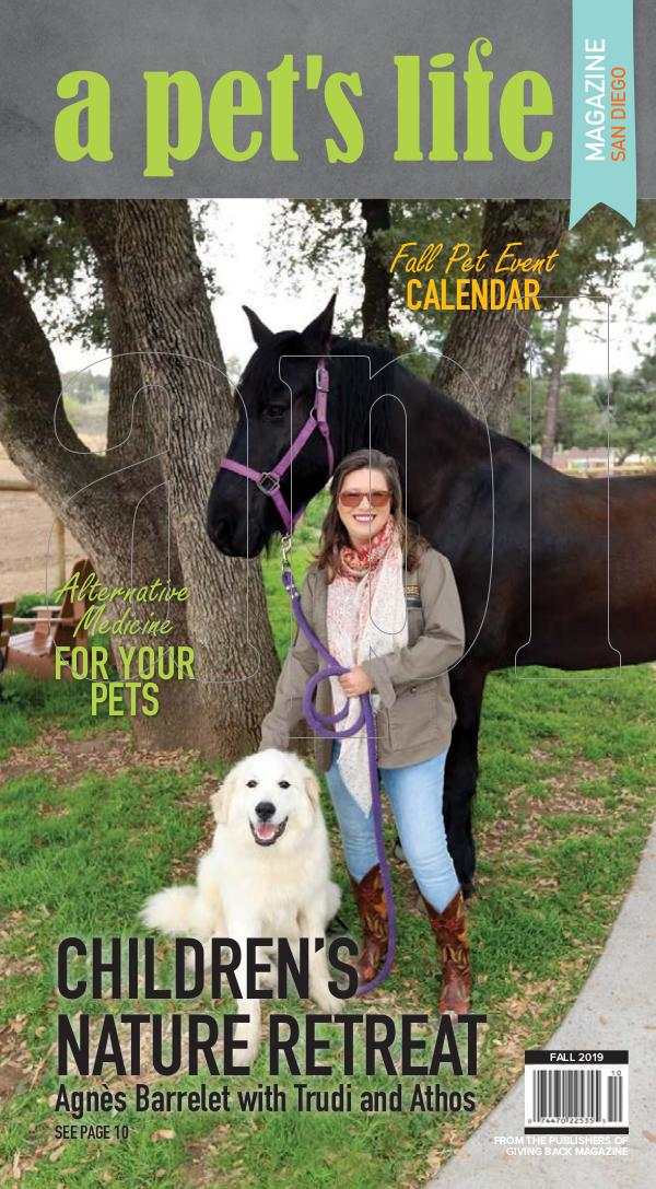 a pet's life magazine Fall 2019