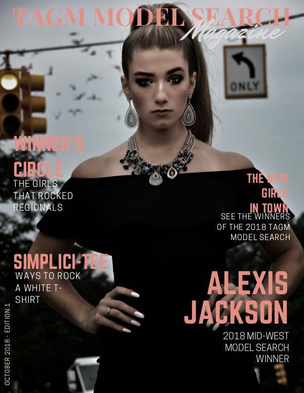 TAGM Model Search Magazine Edition 1 TAGM Model Search Magazine Final