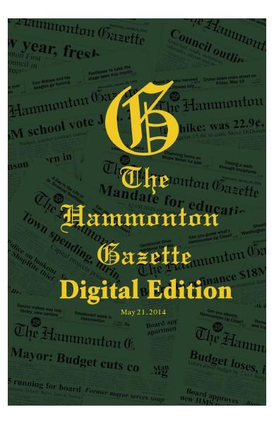 The Hammonton Gazette 05/21/14