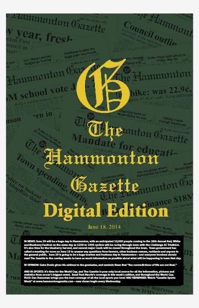 The Hammonton Gazette 06/18/14 Edition