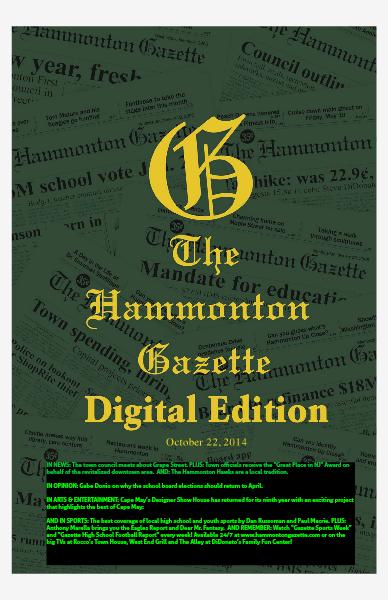 The Hammonton Gazette 10/22/14 Edition