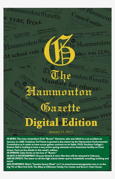 The Hammonton Gazette 01/21/15 Edition