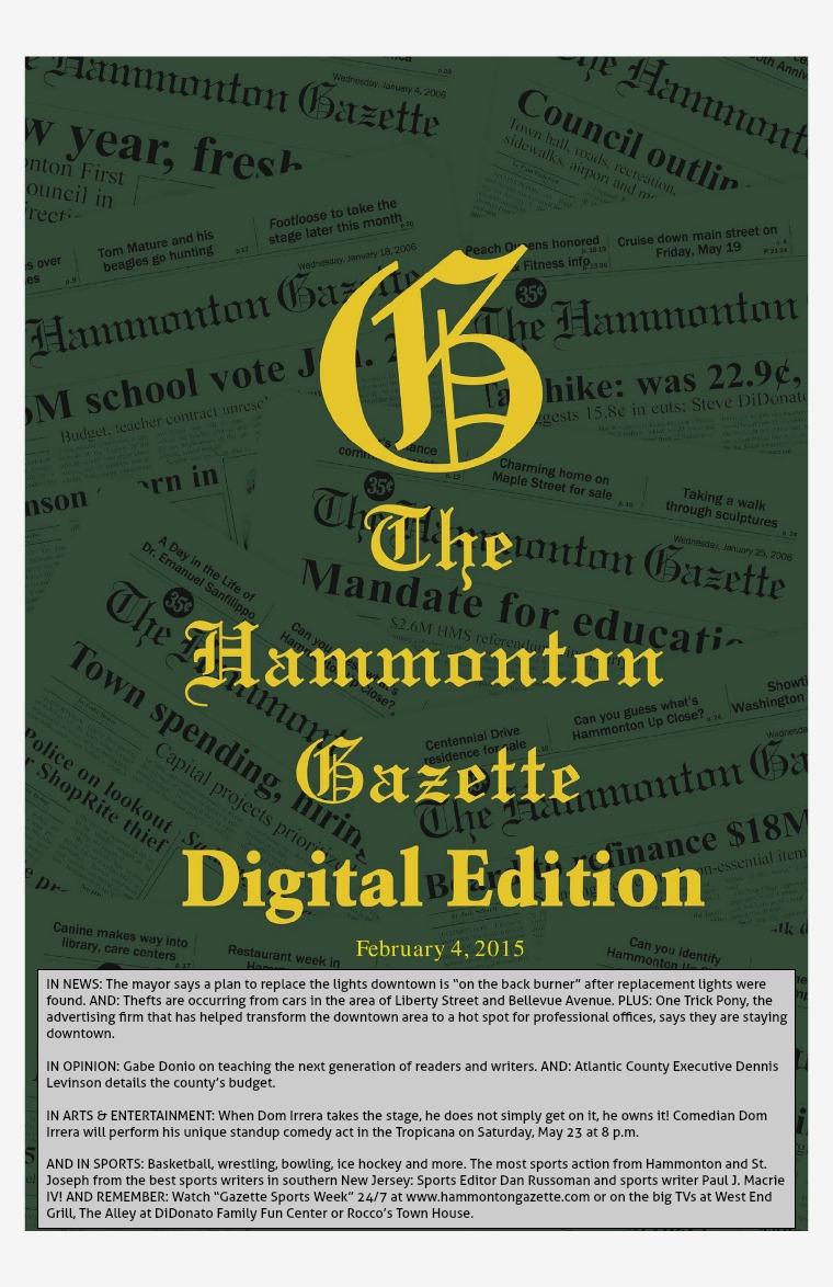 The Hammonton Gazette 02/04/15