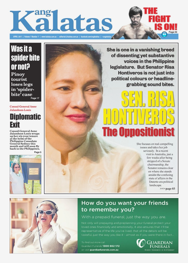 Ang Kalatas April 2017 Issue
