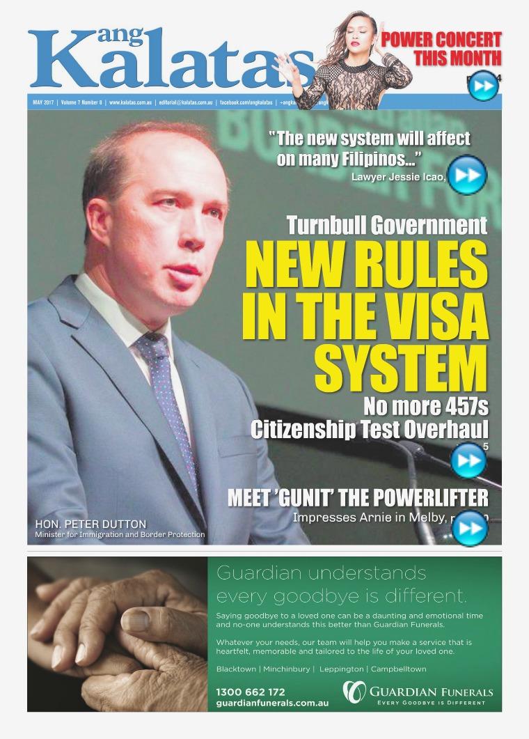 Ang Kalatas May 2017 Issue