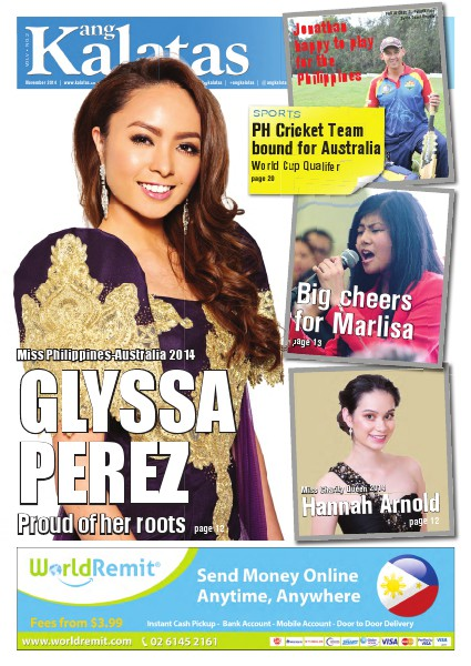 Ang Kalatas Volume V November 2014 Issue