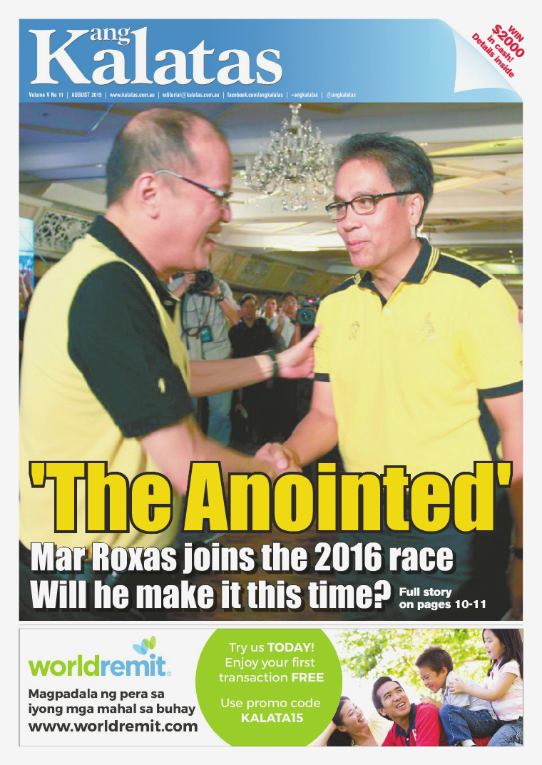 Ang Kalatas Volume V August 2015 Issue
