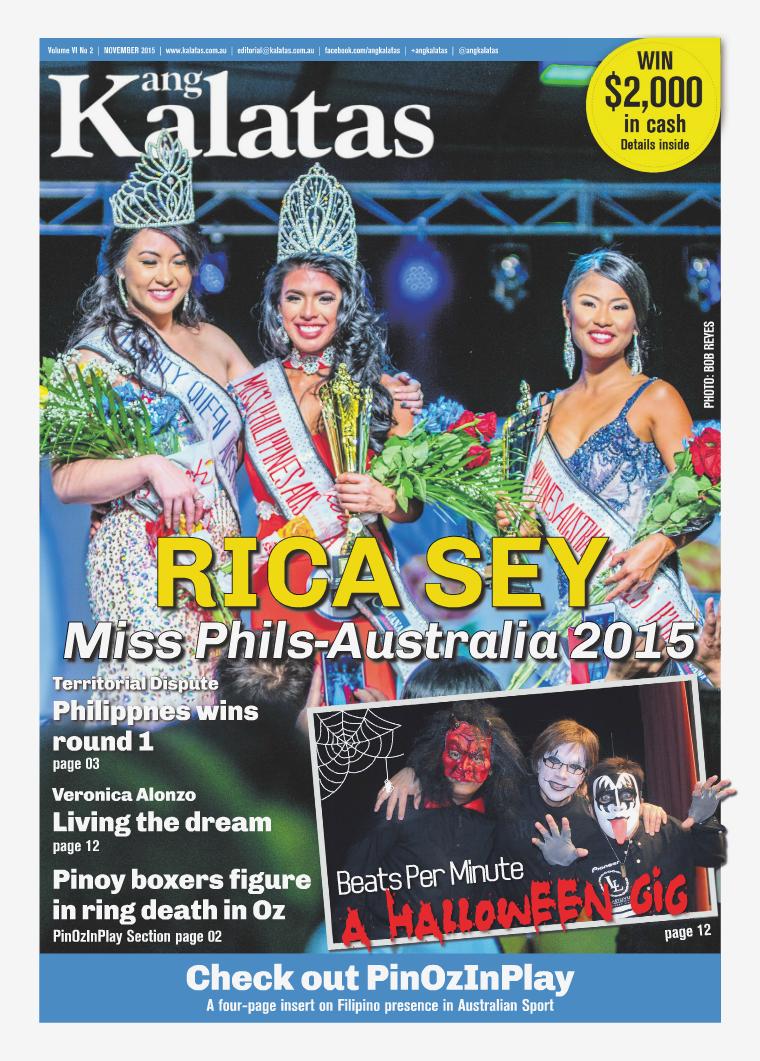 Ang Kalatas November 2015 Issue