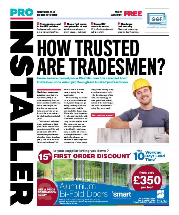 Pro Installer August 2017 - Issue 53