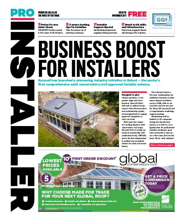 Pro Installer November 2017 - Issue 56