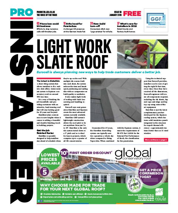 Pro Installer January 2018 - Issue 58