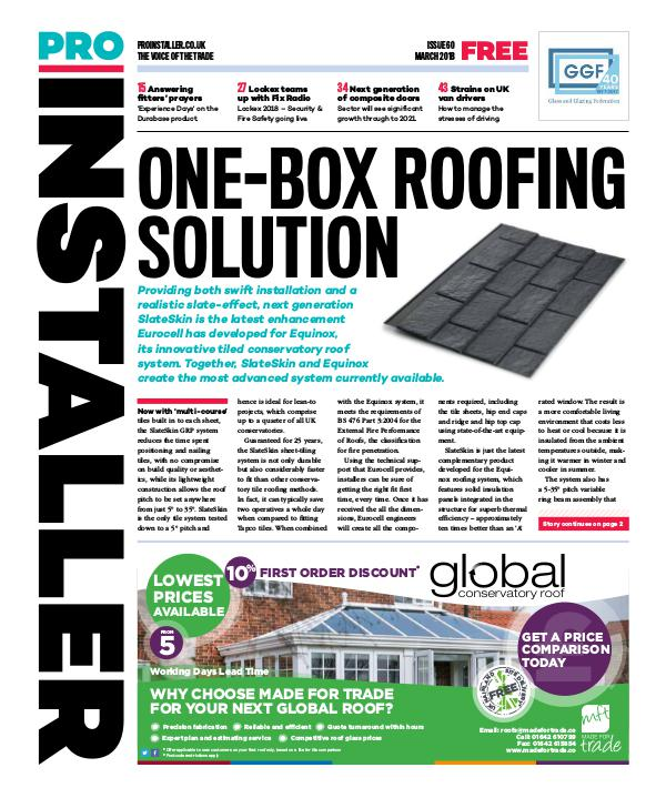 Pro Installer March 2018 - Issue 60