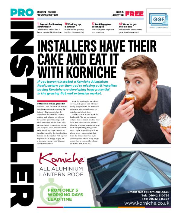 Pro Installer August 2018 - Issue 65