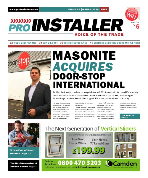 Pro Installer March 2014 - Issue 12