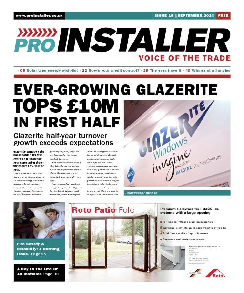 Pro Installer September 2014 - Issue 18