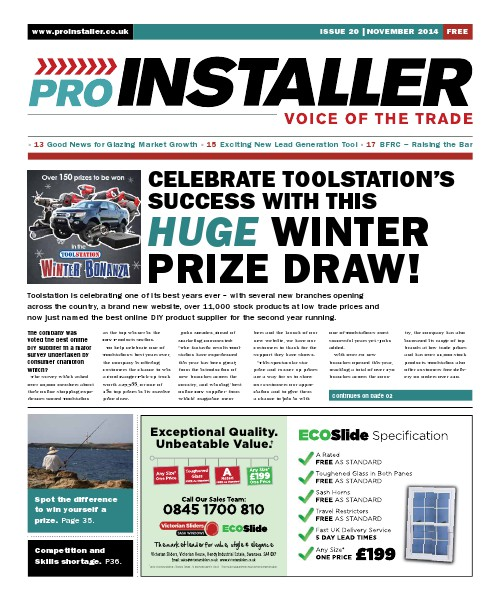 Pro Installer November 2014 - Issue 20