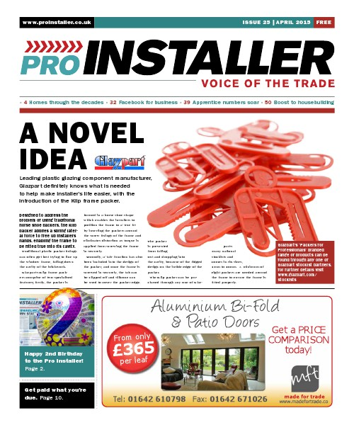 Pro Installer April 2015 - Issue 25