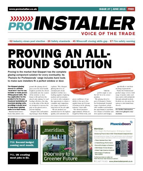 Pro Installer June 2015 - Issue 27