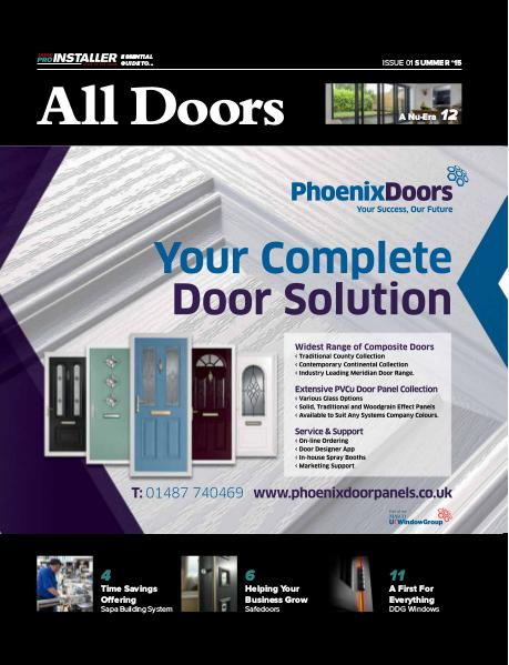 Pro Installer Guide to All Doors - Issue 01